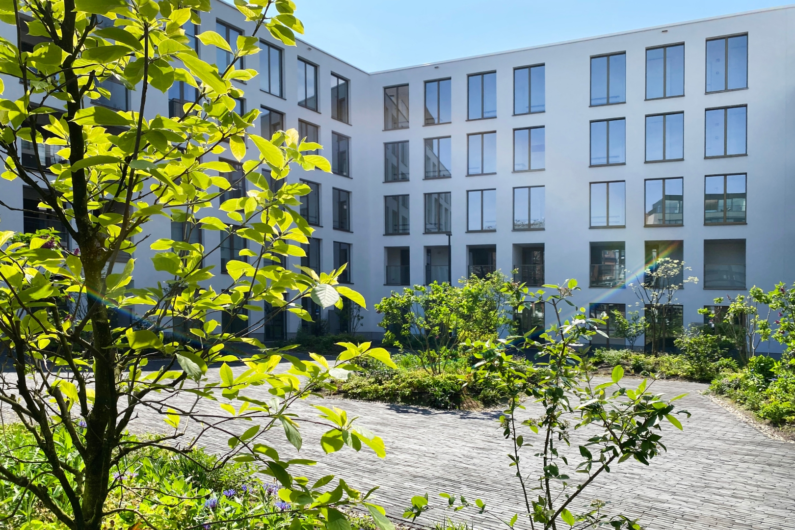 FOR SALE AT LANDBERGH: Appartments in Ghent
