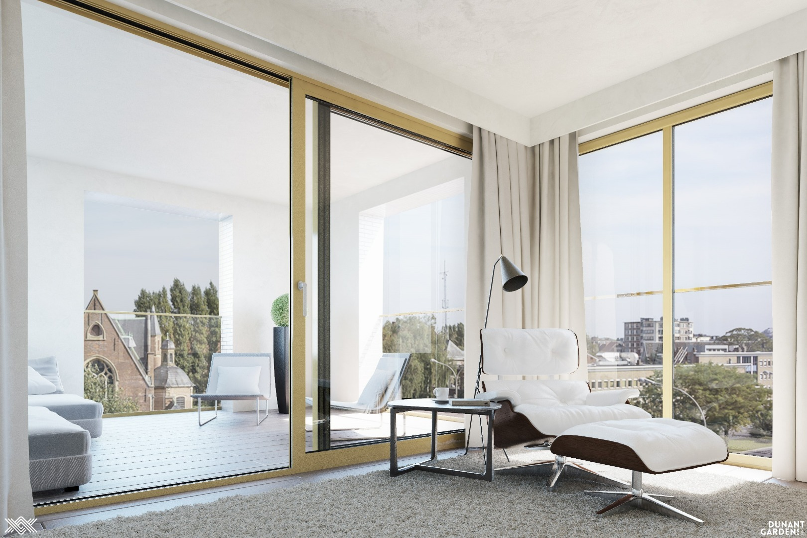 For sale at Landbergh: 3 bedroom penthouse in Ghent