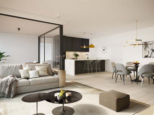 Comfortable apartments with sun-oriented terraces