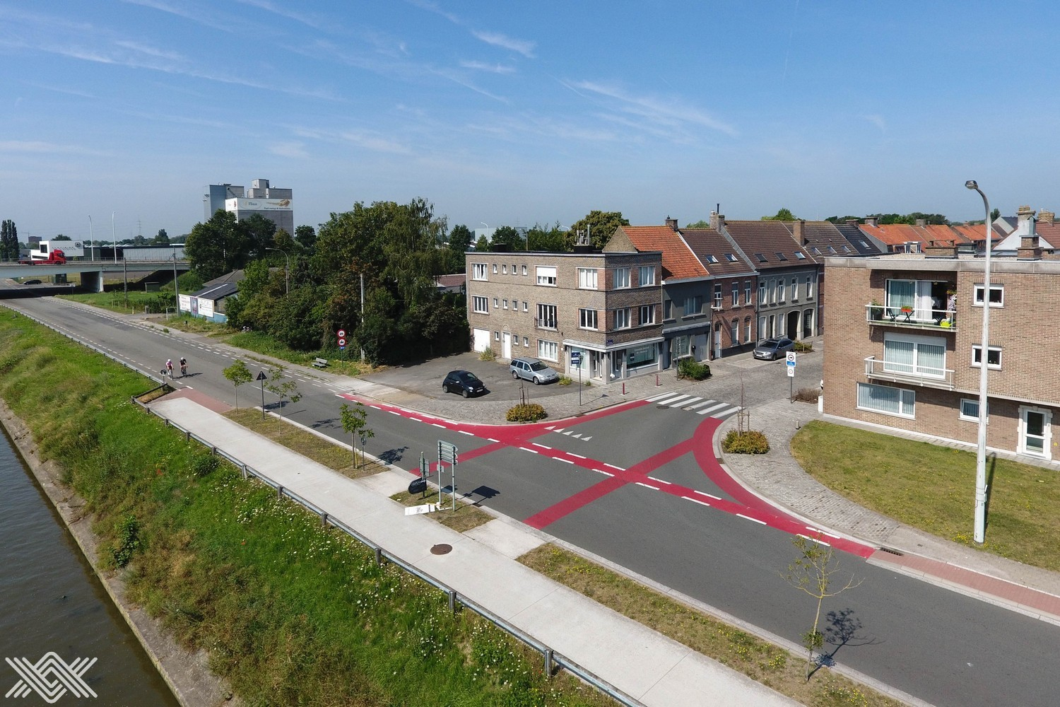 Handelspand langs de vaart in Deinze te koop