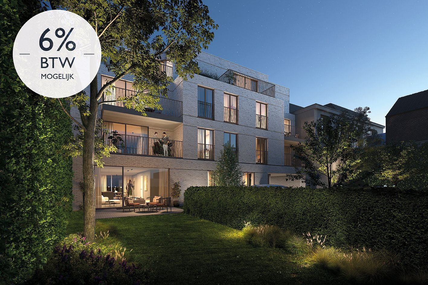 New residential project in Gent - 6% TAX possible
