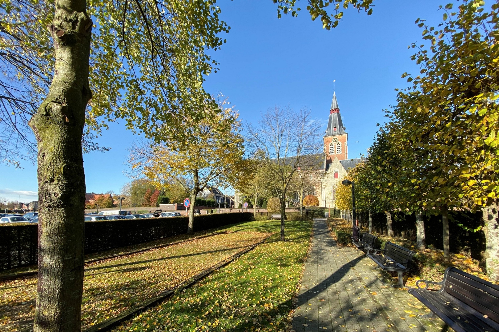 FOR RENT AT LANDBERGH:  penthouse in Aalter